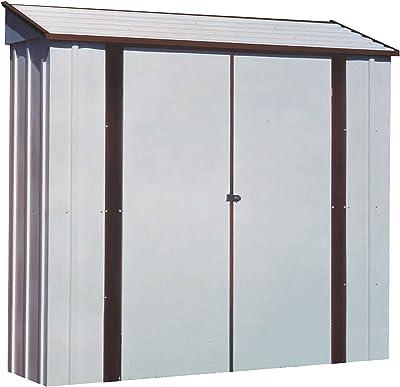 Arrow Sheds CL72 7-Feet by 2-Feet Steel Storage Locker