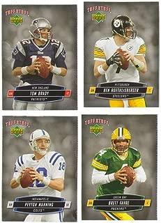 2006 Tuff Stuff Magazine Upper Deck Inserts - Football Players 20 card lot
