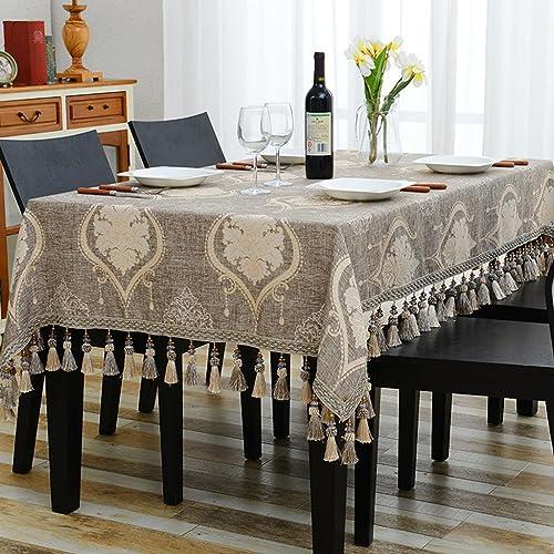 Küchenwäsche Rechteckige Tischdecke, europäischen westlichen Restaurant Tischdecken Tee Tischdecken Kunst Tischdecke Baumwolle und Leinen blau ( Farbe   A , Größe   110170cm )