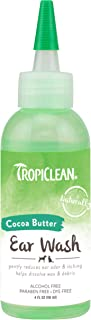 TropiClean Ear Solutions for Pets - Made in USA - Removes Ear Wax and Debris - Soothes and Reduces Itching - Helps Reduce ...