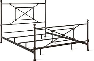 Dorel Living DA8226 Beaumont, Bronze Queen Metal Bed,
