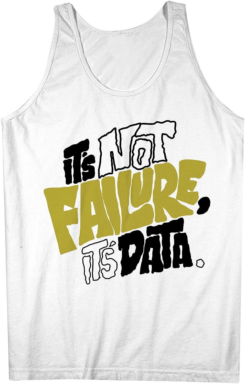 It's Not Failure It's Data やる気を起こさせます Scientist Programmer Student 男性用 Tank Top Sleeveless Shirt