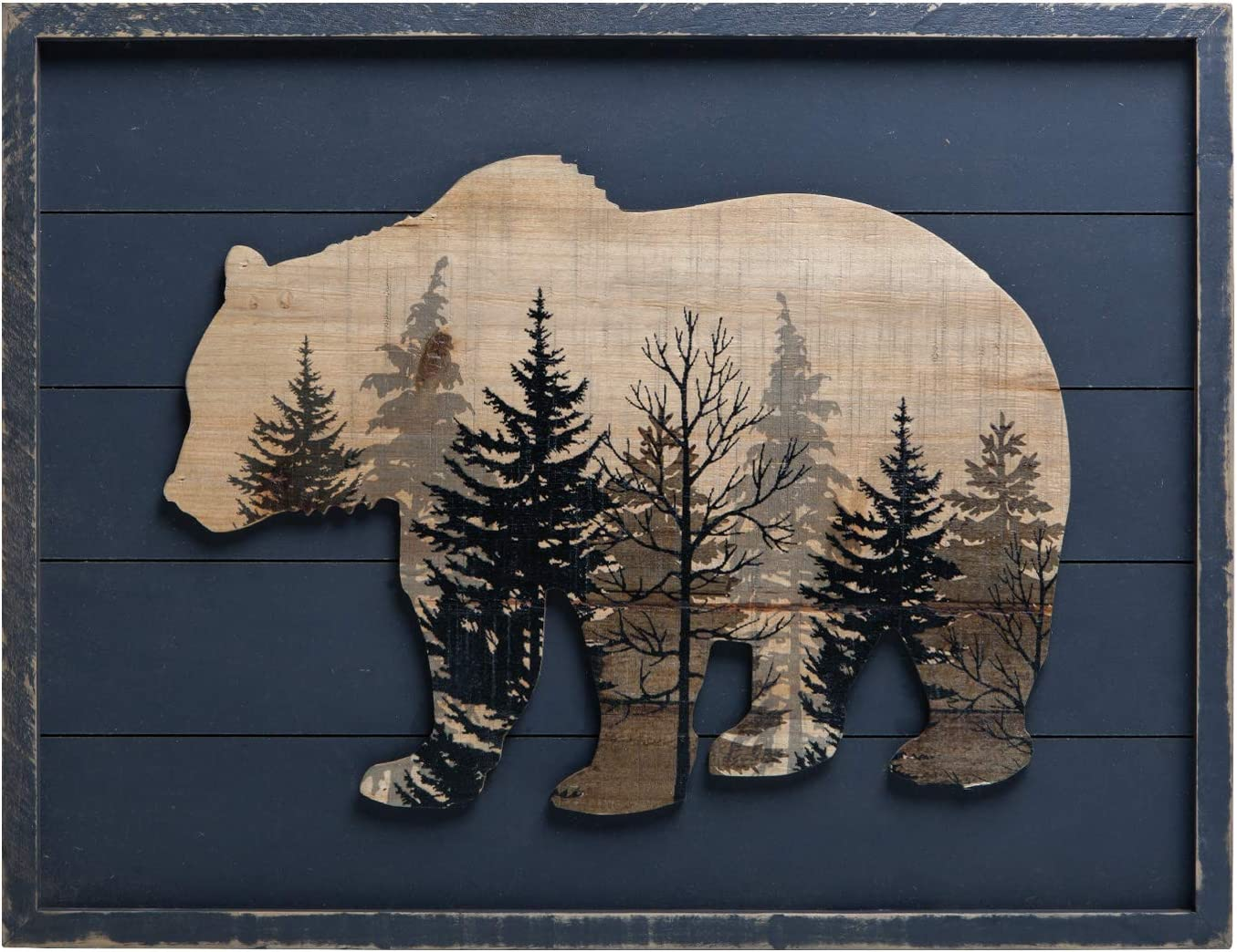 San Antonio Mall NIKKY HOME Cute Bear in The Wood Wall Forest latest A Decorative Framed