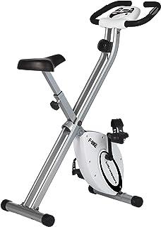 comprar comparacion Ultrasport F-Bike Advanced estática LCD Hometrainer, Niveles de Resistencia Ajustables con sensores de Pulso de Mano, Bici...