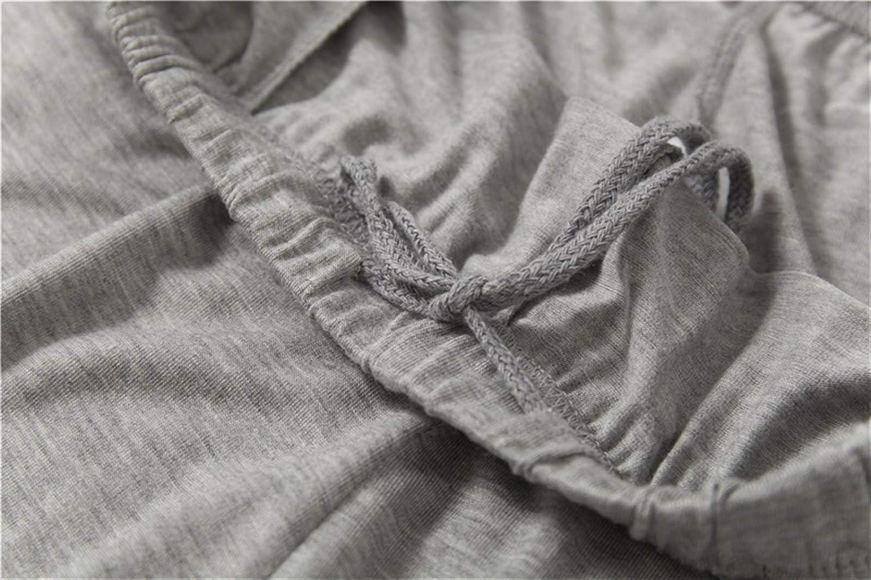 Color : Army Green, Size : L Talla grande 7xl 8xl 40-140kg Hombres Pijamas Conjuntos O Cuello Ajuste de oto/ño Use el uso de la manga larga superior y pantalones largos 45 55kg