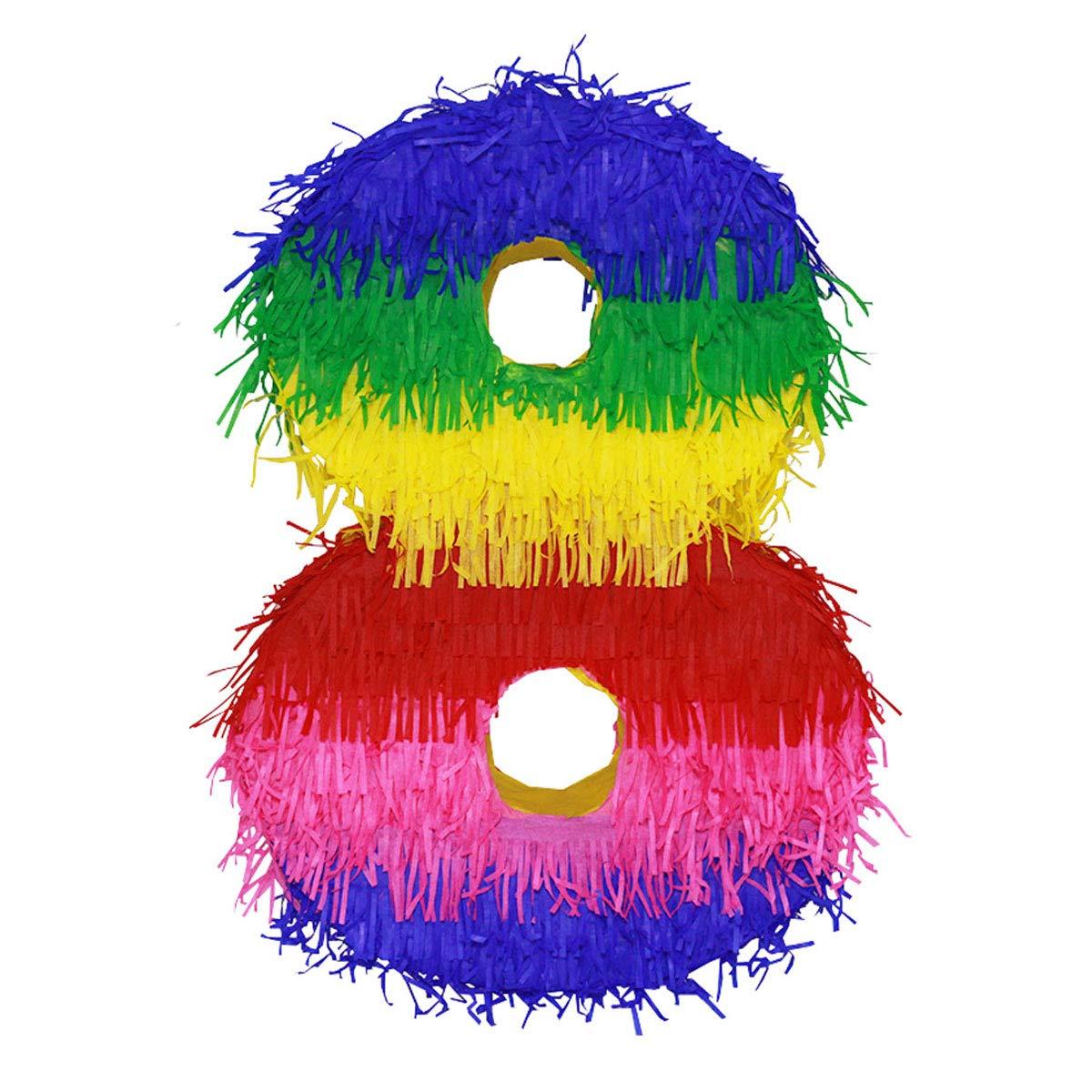 LYTIO Pinata Number Multicolor Pi%C3%B1ata