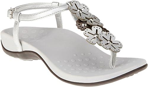 Vionic Vionic Julie - femmes Orthaheel Sandals Pewter - 9  meilleure qualité meilleur prix