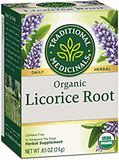 Traditonal Medicinals Organic Licorice Root Tea 3 pk by Traditonal Medicinals