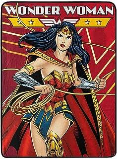 Wonder Woman Super Soft Throws Justice Defender New 45x60 Blanket
