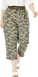 camouflage short pants