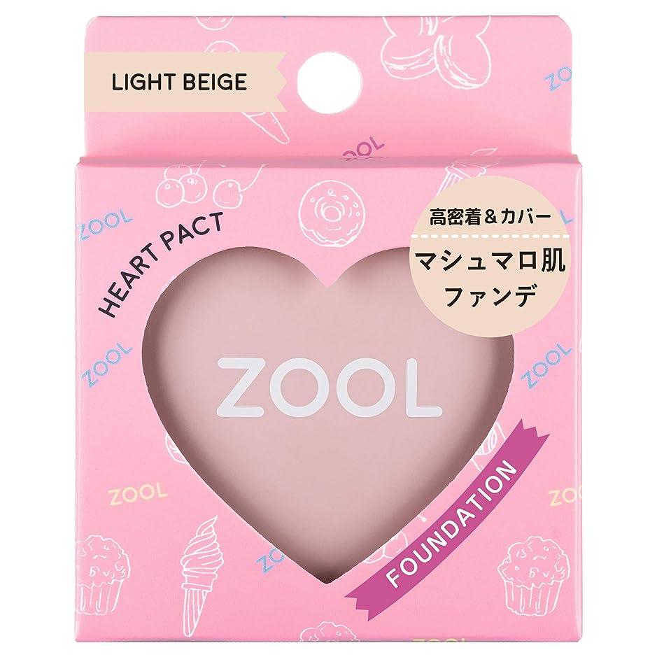 落ち着いたレモンテスピアンZOOL (ズール) ハートパクト ライトベージュ (ファンデ) (1個)