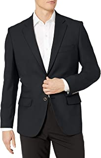 Men's Long-Sleeve Classic-fit Button-Front Stretch Blazer