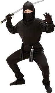 Déguisement Jeune Ninja - Garço, noir, n 8/10 ans (140cm)