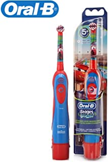 New Braun Oral-b Db4510k Stages Power Disney Cars Toothbrush