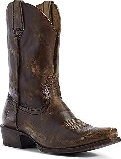 ARIAT Men's Circuit Highway Western Boot Snip Toe Brown 10. 5 EE