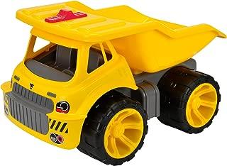 Big-800055810 Camión volquete de Juguete 47cm, Color Amarillo (800055810)