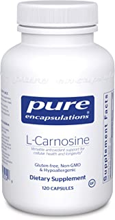 Pure Encapsulations l-Carnosine | Amino Acid Supplement for Joints, Brain, Antioxidants, Heart Health, and Exercise* | 120...