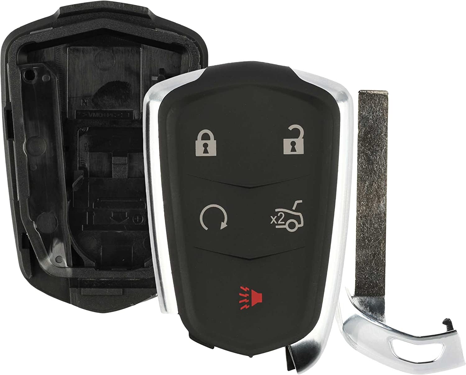 Discount Keyless Remote Complete Free Shipping Entry Uncut Car Butto In a popularity Shell Fob Case Key