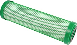 Hydro-Logic 22110 10-Inch by 2.5-Inch Stealth RO/Small Boy Carbon Filter Green Coconut