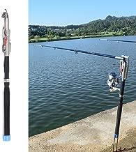 Lixada 2.1m/2.4m/2.7m/3.0m Automatic Fishing Rod Adjustable Telescopic Rod Pole Device Sea River Lake Pool Fishing Tackle with Bank Stick