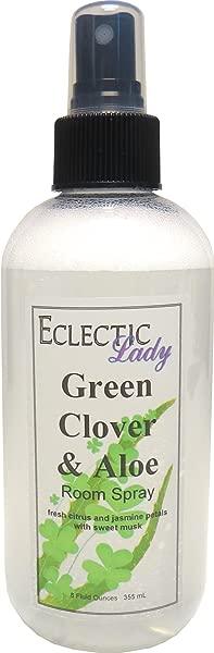 Green Clover And Aloe Room Spray 8 Ounces