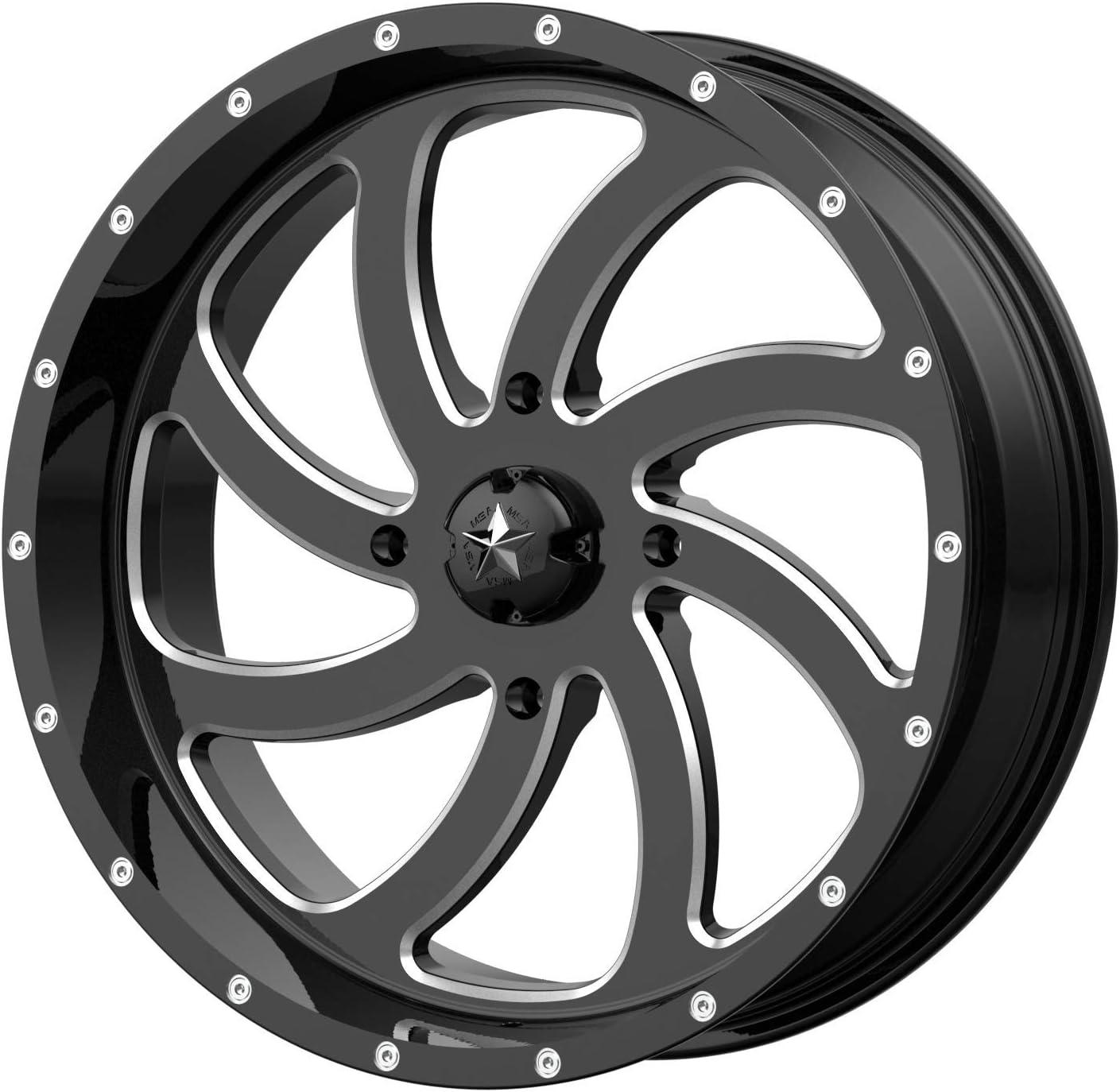MSA M36 Switch Max 60% OFF 18x7 ATV UTV Wheel +0mm - Milled 156 M36-018 Rare 4