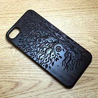 iPhone 7 Wooden Case, Genuine Walnut Wood Case for iPhone 7 (4.7