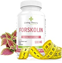 Forskolin Nourishing Diet Pills - Pure Natural Forskolin for Weight Loss, Max Strength Appetite Suppressant, Metabolism Booster, Carb Blocker & Fat Burner for Women and Men Coleus Forskohlii- 500mg 60