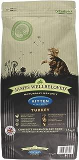 James Wellbeloved Dry Kitten Food Turkey And Rice 1.5kg