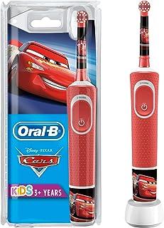 Oral-B Kids Oplaadbare Elektrische Tandenborstel Powered By Braun, 1 Handvat met Disney Pixar Cars, Voor Kinderen Vanaf 3 ...