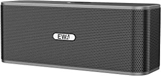 EWA W300 Bluetooth Speaker with Loud Stereo Sound, Portable Speaker for Travel, 8+ Hour Playtime, Outdoor Party Wireless S...