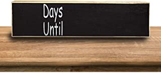 VILIGHT Countdown Chalkboard Wooden Sign for Any Occasion