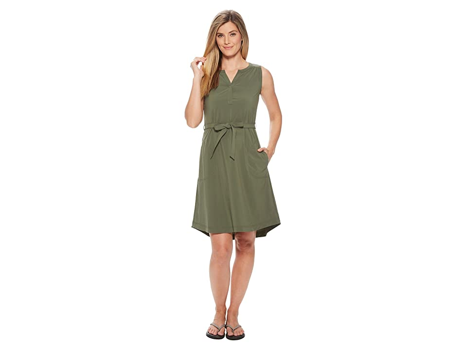 Royal Robbins Spotless Traveler Tank Dress (Bayleaf) Women