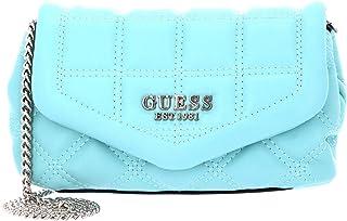 Guess Kamina Mini Bag with Flap Aqua