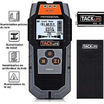 Decker TLD100-XJ Détecteur de fuites thermiques Avec écran LCD et LED 9 Black