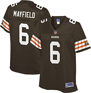 baker mayfield browns jersey white