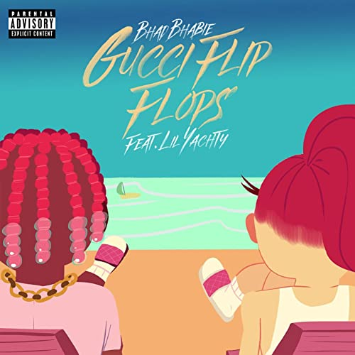 cede2503fc00 Gucci Flip Flops (feat. Lil Yachty)  Explicit  by Bhad Bhabie on ...