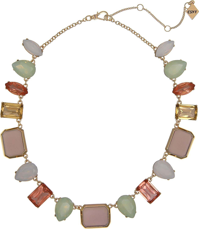 Christian Siriano New York Multi Stone Collar Necklace