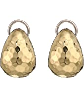 John Hardy - Classic Chain Hammered Buddha Belly Earrings