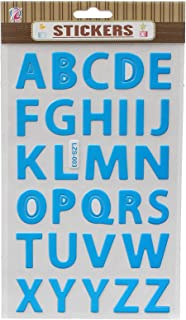 apple LZS-002 Letters Stickers - Blue
