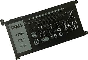 DELL WDX0R Notebook Battery 11.4V 42WH for Dell Inspiron 15 5565 5567 5568 5578 5579 7560 7570 7573 7579 7580 7569 P58F 5368 5378 5379 7368 7378 7460 17 5765 5767 5770 Latitude 3480 3580 3490 3590