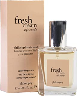 Philosophy Fresh Cream Soft Suede Spray Fragrance .5 fl oz
