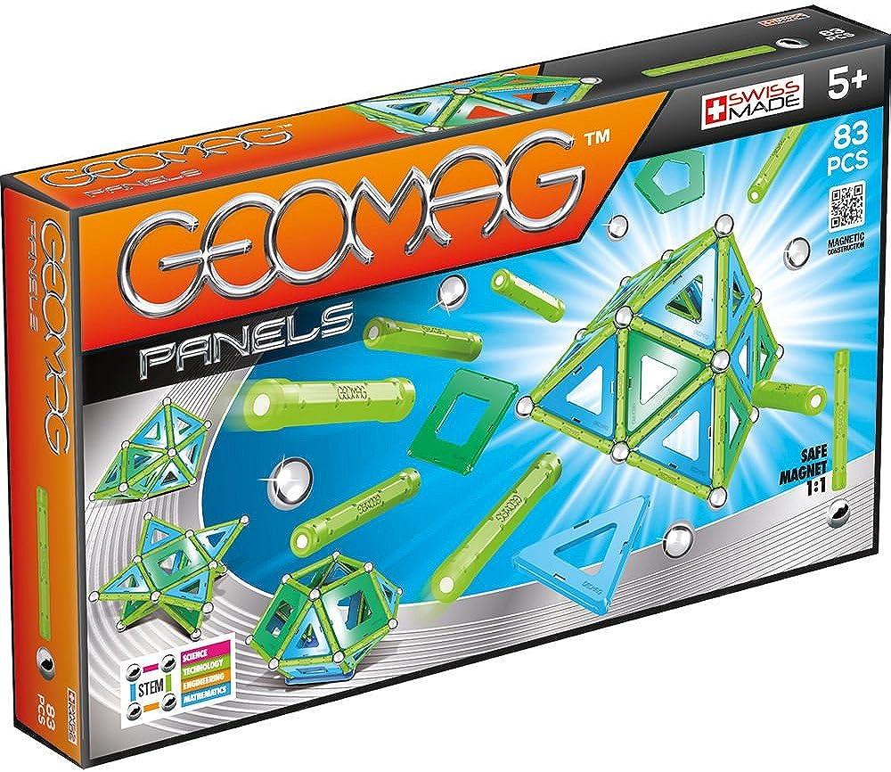 Geomag, panels gioco di costruzione magnetico, multicolore, 83 pezzi