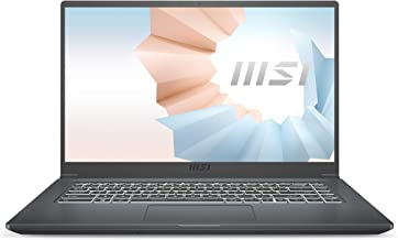 "MSI Modern 15 A11SB-066XES - Ordenador portátil de 15.6"" FullHD (Intel Core i7-1165G7, 16GB RAM, 1TB SSD, NVIDIA MX450-2G..."