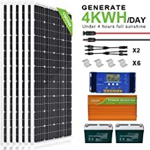 Amazon Com Solar Panel Kit For Home