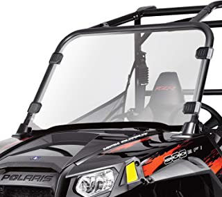 Clear UTV Full Windshield for Polaris Razor, 12-18 RZR 570, 08-14 RZR 800, 09-14 RZR S 800, 10-14 RZR 4 800, 11-14 RZR XP 900, 11-14 RZR XP 4 900