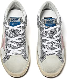 Superstar Leather and Glitter Upper Suede Star