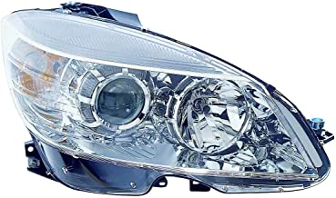 Depo 340-1130R-AFN Head Lamp Assembly (Mercedes Benz C Class Fm 2/9/08-11 Halogen Chrome Passenger Side Nsf)