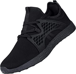 Air Knitted Sneakers Ultra Lightweight Non Slip Athletic Running Walking Tennis Shoes