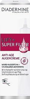 DIADERMINE LIFT+ Augenpflege SUPER FILLER Augencreme Faltenfüllende Anti-Age Pflege, 1er..